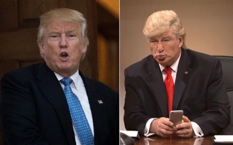 Trump sugiere investigar a comediantes que se burlan de él