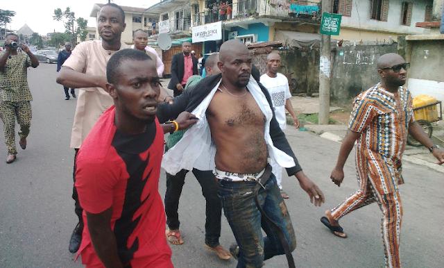 photos of Thugs invade Abia APC Secretariat, cart away valuables