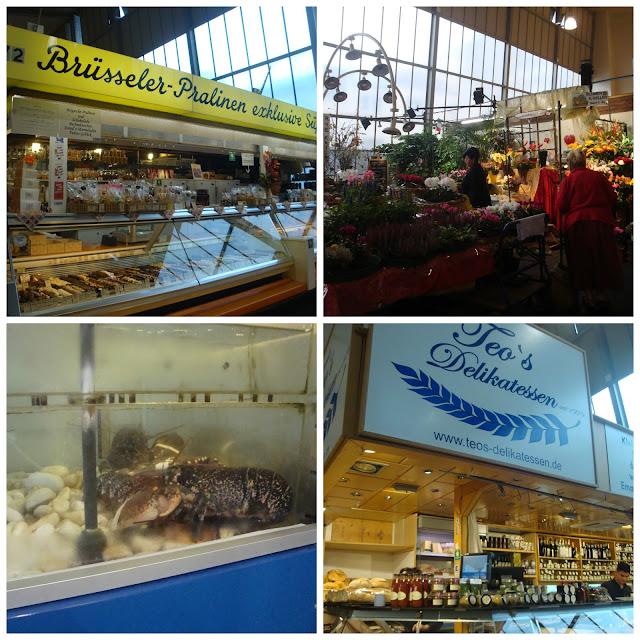 Food Markets pelo mundo - Kleinmarkthalle, Frankfurt