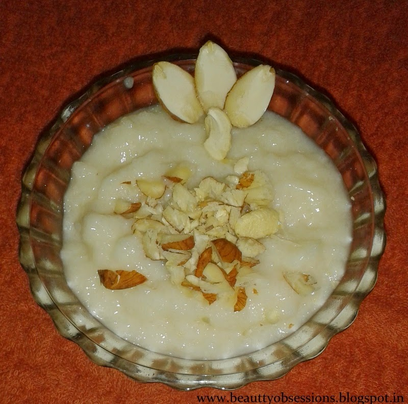 Recipe # 1 : Rice Kheer