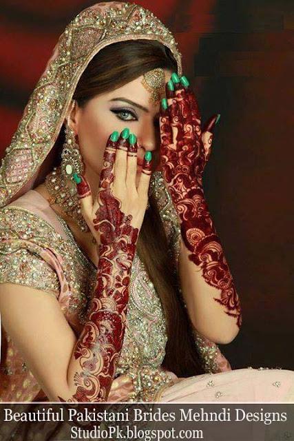 Brides Mehndi Designs