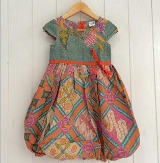 Batik anak warna pastel