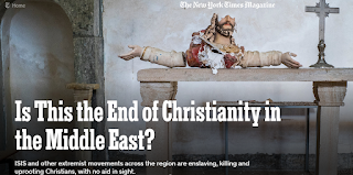The End of Christianity in the Middle-East