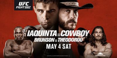 Ver UFC Fight Night: Iaquinta vs Cowboy En vivo En Español Online
