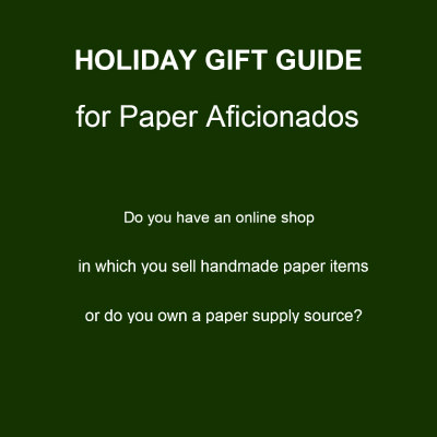 Holiday Gift Guide for Paper Aficionados