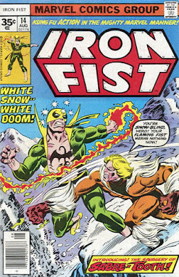 Iron Fist #14, Sabre-Tooth