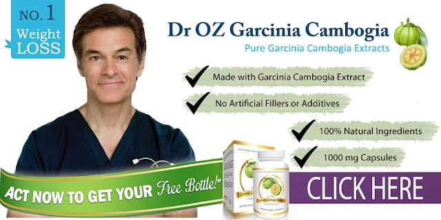 Dr Oz Magic Weight Loss Pill Garcinia Cambogia Free Bottle