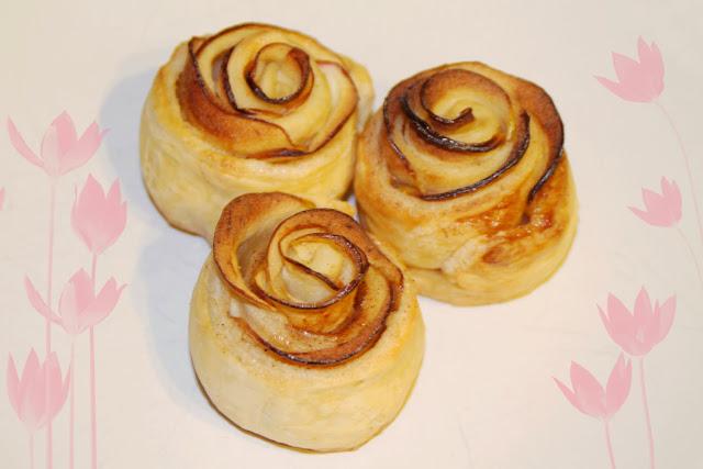 chili und vanille foodblog mit apfel rosen muffins. Black Bedroom Furniture Sets. Home Design Ideas
