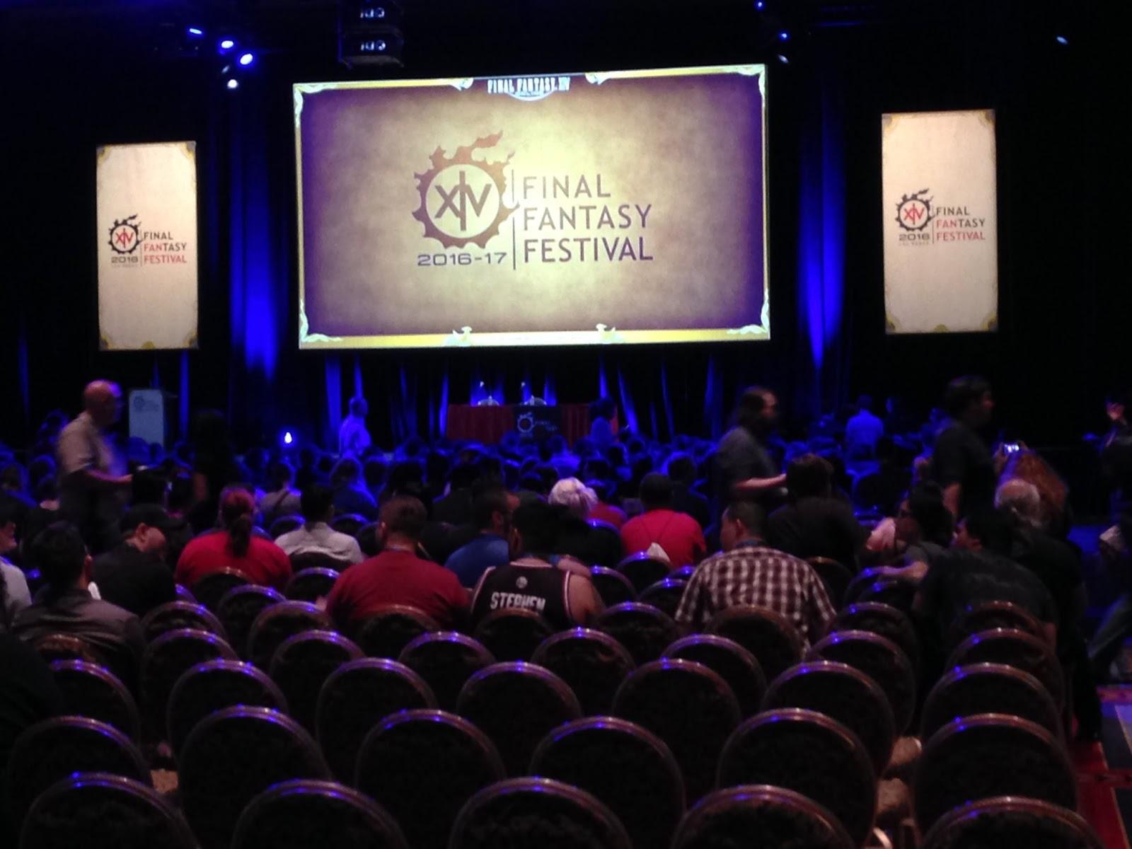 Talk Star Wars To Me: Final Fantasy XIV FanFest 2016 - A
