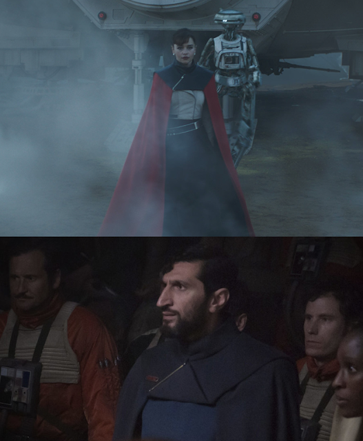 qi'ra costume cape compared to rogue one Vasp Vaspar