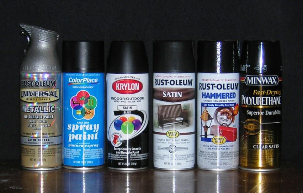 Nickel Spray Paint