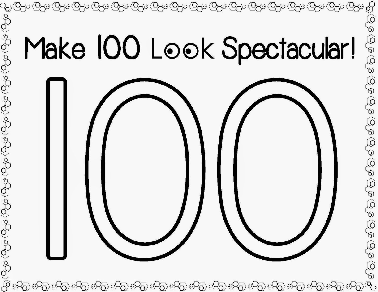 Lessons By Molly 100th Day Of School