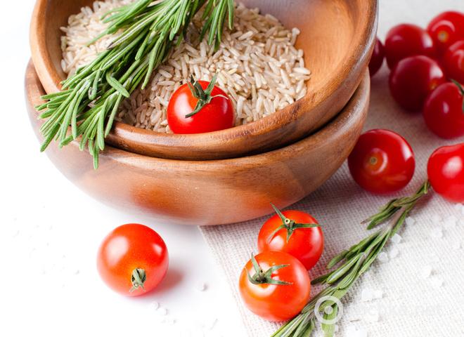 Постные рецепты: рис в томатном соусе