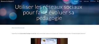Coreflechir le blog Réseaux et Pédagogie