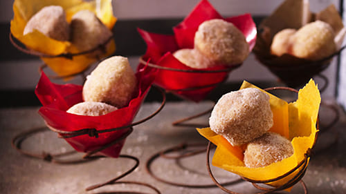 Spiced Mini Donut Balls recipe
