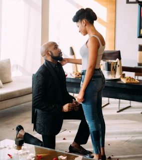 Banky W gets engaged to Nollywood actress Adesua Atomi