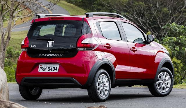 Novo Fiat Moby Way: fotos, preço, consumo e detalhes