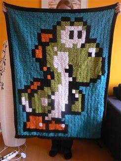 Pixelados a Crochet - Colchas y Tapetes
