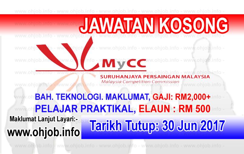 Jawatan Kerja Kosong Suruhanjaya Persaingan Malaysia - MyCC logo www.ohjob.info jun 2017