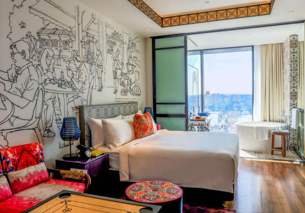 Dirancang Super Unik, Kamar Hotel Ini Bikin Traveler Penasaran
