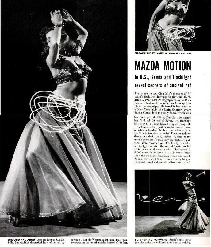MEI Editor's Blog: Life Magazine, 1952: Samia Gamal's Contribution