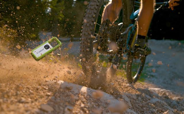 Canon Ivy Rec: La nuova fotocamera impermeabile e a prova di urto