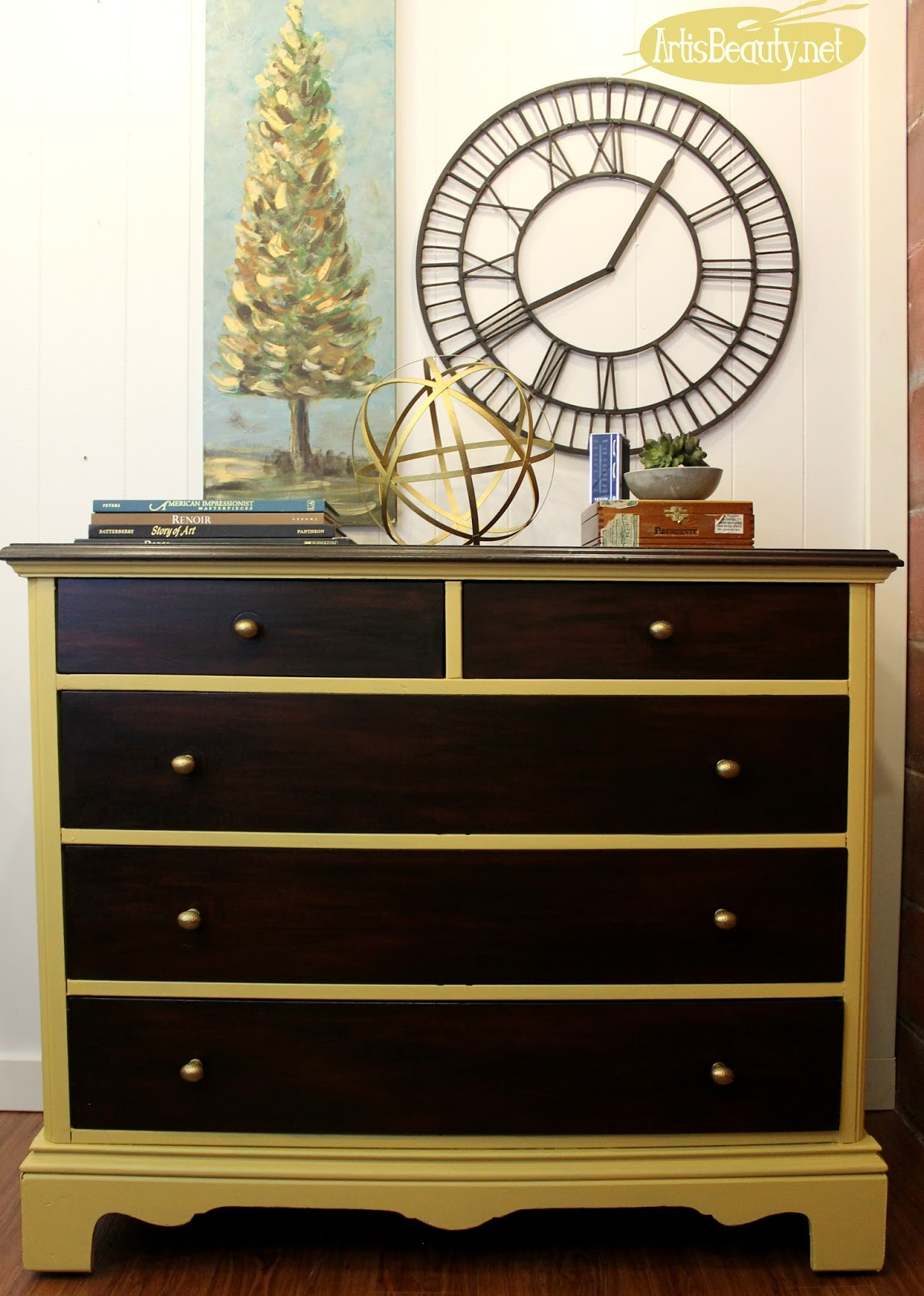 Art Is Beauty Updating A Dresser With General Finishes
