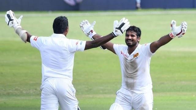 srilanka vs southafrica 1st test final day highlights full video kusal perera 153