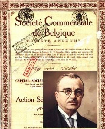 Αποτέλεσμα εικόνας για SOCIETE COMMERCIALE DE BELGIQUE