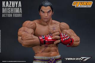 """Figuras: Imágenes de Kazuya Mishima de """"Tekken 7"""" - Storm Collectibles"""