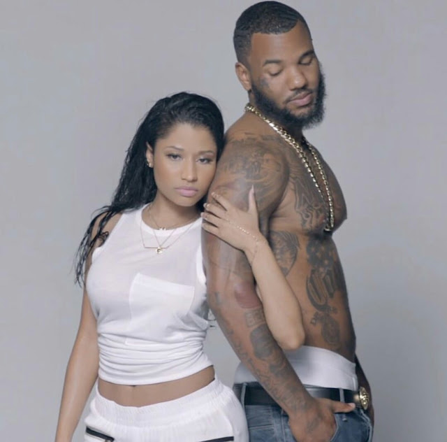 Time For War! The Game Mocks Meek Mill By Posting Shirtless Shoot With Nicki Minaj