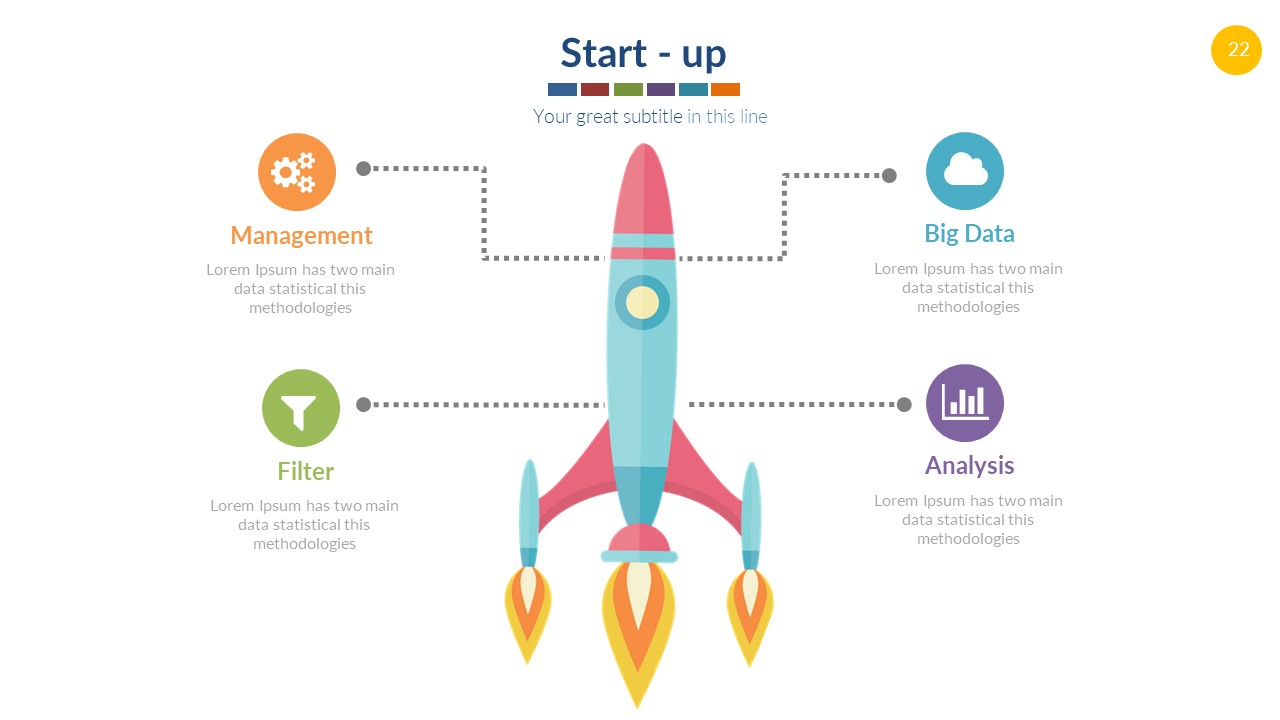Infographics vector powerpoint free