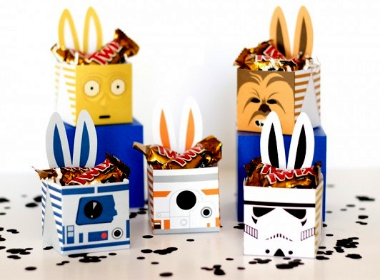 Star Wars Easter Boxes!