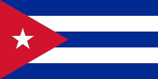 Logo Gambar Bendera Negara Kuba PNG JPG ukuran 600 px