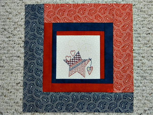 Quilt N Queen Red White And Blue And A Give Away