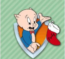 porky pig sings blue christmas - Elmer Fudd Blue Christmas