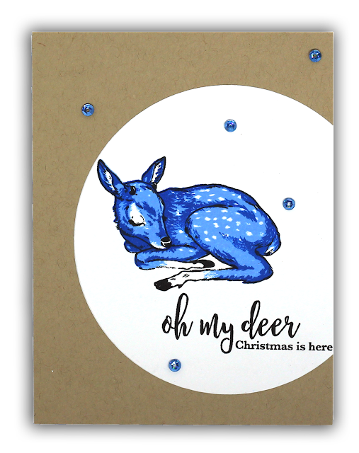 Blue Fawn card by Understand Blue