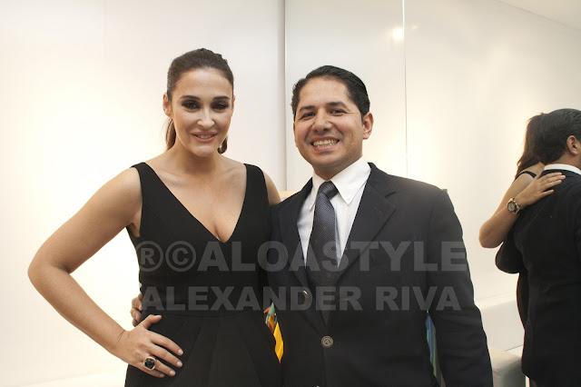 Con Vicky Martín Berrocal en la presentación de su  nueva colección Primavera – Verano 2012 en El Corte Inglés