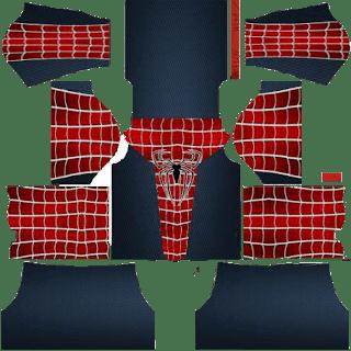 kit dream league soccer spiderman