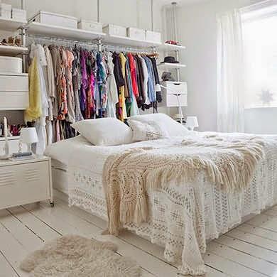 Iδέες διακόσμησης για μικρή κρεβατοκάμαρα