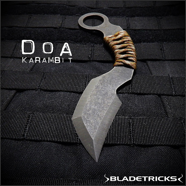 Tanto shape blade karambit knife,Bladetricks custom edged weapons