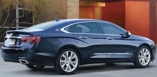 2019 Chevrolet Impala Specs