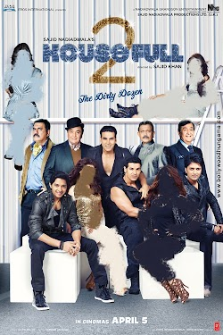 Housefull 2 Movie 2012 Online Akshay Kumar John Abraham Riteish Deshmukh First Look Poster