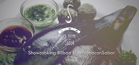 La palma con sabor. Showcooking Bilbao