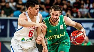 Gilas Pilipinas versus Australia