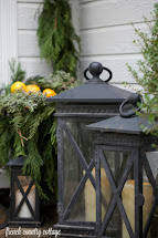 Simple & Natural Front Porch Decorating - French Country