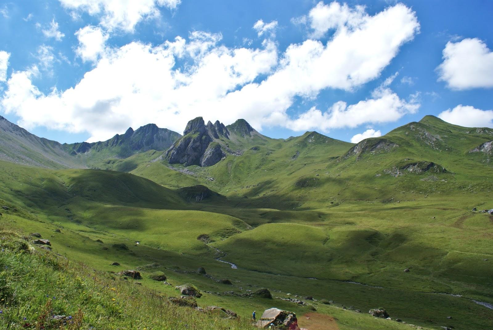 beaufortain alpes montagne savoie france randonnée