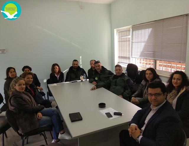 Επίσκεψη του Βουλευτή Θεσπρωτίας ΣΥΡΙΖΑ κ. Μ. Κάτση στα γραφεία του Φορέα Διαχείρισης Αχέροντα και Καλαμά