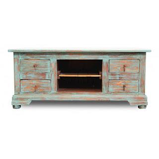 הגלריה המקסיקנית המקום לעיצוב הבית - שולחן סלון בעיצוב עץ משופשף היוצר שילוב צבעים המגביר את נוכחותו בחלל. מעוצב בסגנון קלאסי בשילוב צבע מרענן לעין ומשרה אווירה קיצית ונעימה בחדר