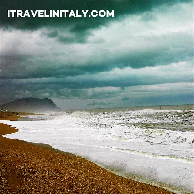 Porto Recanati in the Marche region. of central Italy.